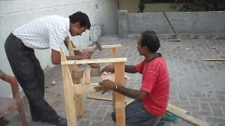How To Make Wooden Chair - Woodworking Information