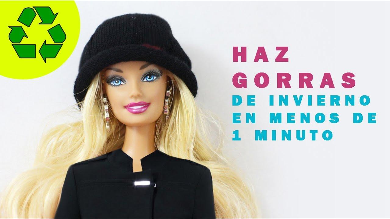 Cómo hacer una gorra o sombrero para tu muñeca Barbie 7e5cab63c06