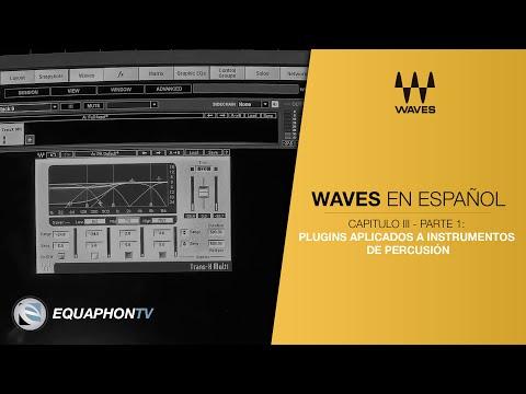 Waves - Tutorial en Español - Plugins aplicados a instrumentos percusivos