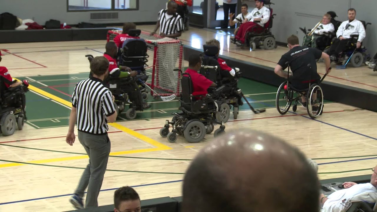 Wheelchair Hockey Kids Table And Chairs Clearance Ottawa Power League A Look Inside The