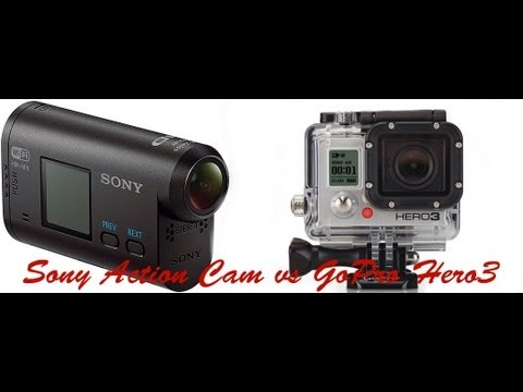 gopro hero3 vs sony action cam comparison video test youtube. Black Bedroom Furniture Sets. Home Design Ideas