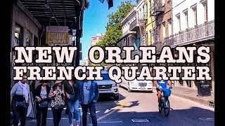 Visit New Orleans French Quarter Walking Tour 4K