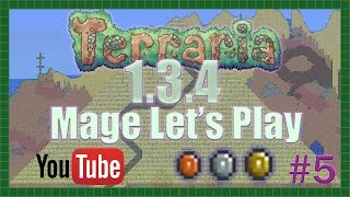 Terraria 1.3.4 Mage Lets Play Ep 5: Self Promotion Discussion