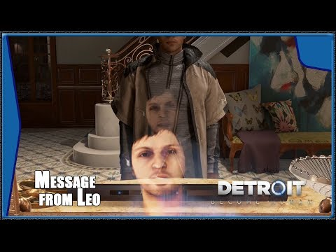 Detroit: Become Human - Markus Returns Home, Message from LEO (HD) (1080p)