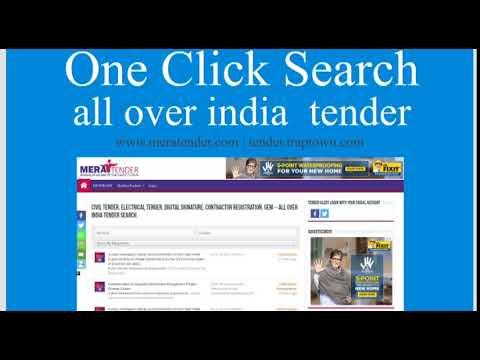Civil Tender – Online e tendering and tender information website