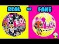 FAKE or REAL LOL Surprise Balls You Decide Cupcake Kids Club