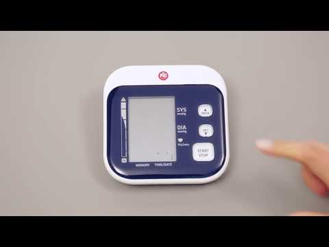Pic Solution Easy Rapid Blood Pressure Monitor - Tutorial (English) For people who need simplicity