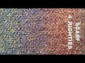 How To Knit a Scarf From Boucle Yarn - 4 Righties