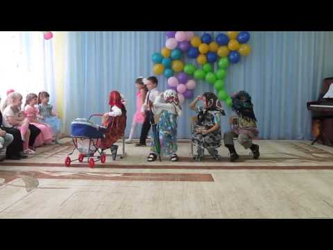 Сценка в детском саду ко дню 8 марта