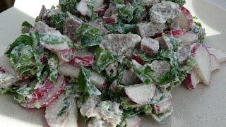 Шикарный салат для ежедневного приготовления без майонеза/Salad recipe/Салаты рецепты