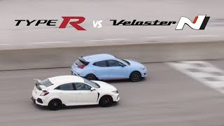 Civic Type R vs Veloster N on …