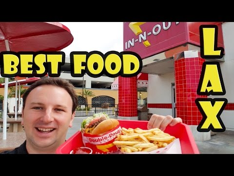 Best Food near LAX Airport - In-N-Out Burger