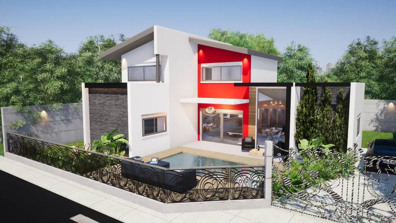 Villa Moderne By Denis M Concept Construction Oi Youtube