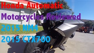 2015 honda nm4 and 2015 honda ctx700 dct abs dual clutch automatic motorcycles