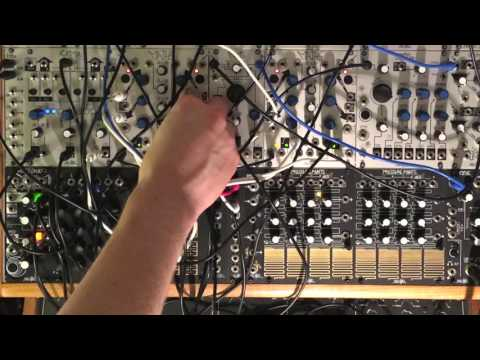 Make Noise DPO Final Output + Soundhack tELHARMONIC Harmonic Algorithm Output