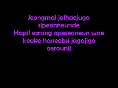 2NE1 ~ LONELY LYRICS (colored version)