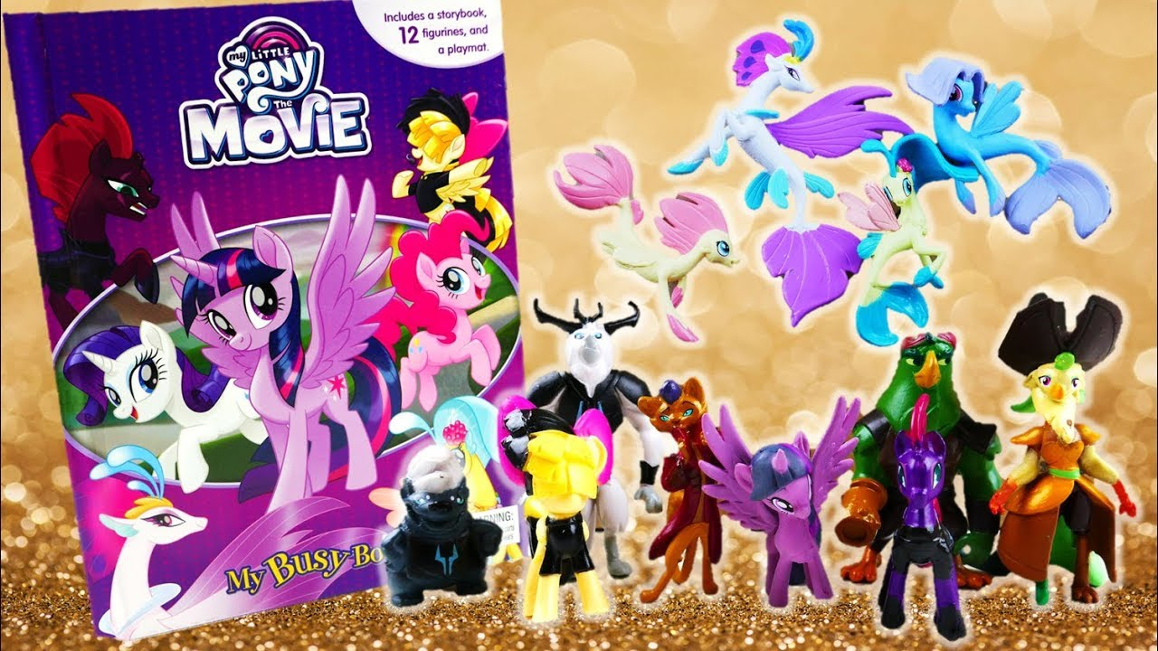 My Little Pony The Movie 2017 My Busy Books Toys and Storybook YouTube