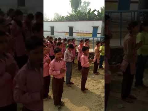 wah sakti hame do daya nidhe  ....school prayer.....ups bhishampur