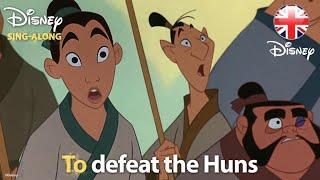 DISNEY SING-ALONGS | I'll Make A Man Out Of You - Mulan Lyric  |  Disney UK