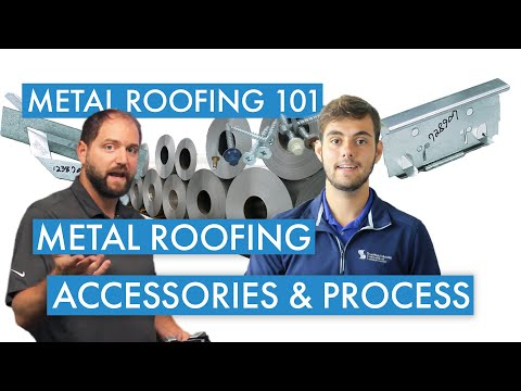 What are the Components of a Metal Roof?
