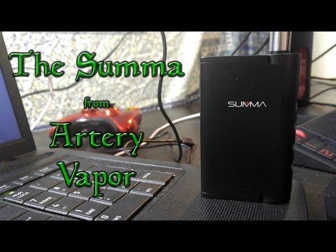 The Summa from Artery Vapor - A Seeker Gaming Review