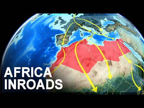 Europe's Belt and Road corridors into Africa