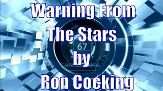 Audiobook science fiction short. Warning From The Stars by Ron Cocking