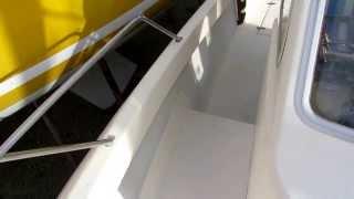 Antioche 700, Contrôles moteur, Zdrive, pompe de cale etc...