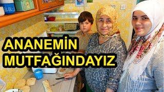 Günlük Vlog | Ananeme Misafir Olduk | Haşhaşlı Cevizli Çörek Tarifi