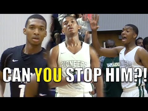 Antwann Jones Official Mixtape! Texas A&M Commit was on a MISSION!! Nice Stroke and Court Vision