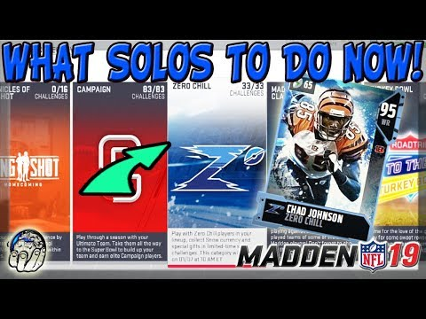 MADDEN 19 ULTIMATE TEAM BEST SOLOS TO COMPLETE FOR MUT COINS SNOW & 91+ OVR ELITE REWARDS!!!