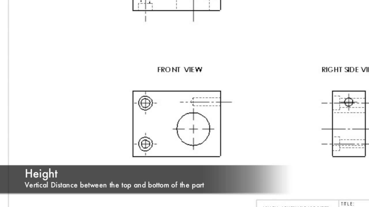 Height lengthwidth and depth dimensions on blueprints youtube malvernweather Image collections