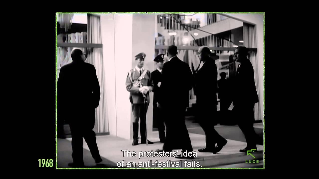 Gastone Novelli: Mart e Biennale di Venezia del 1968