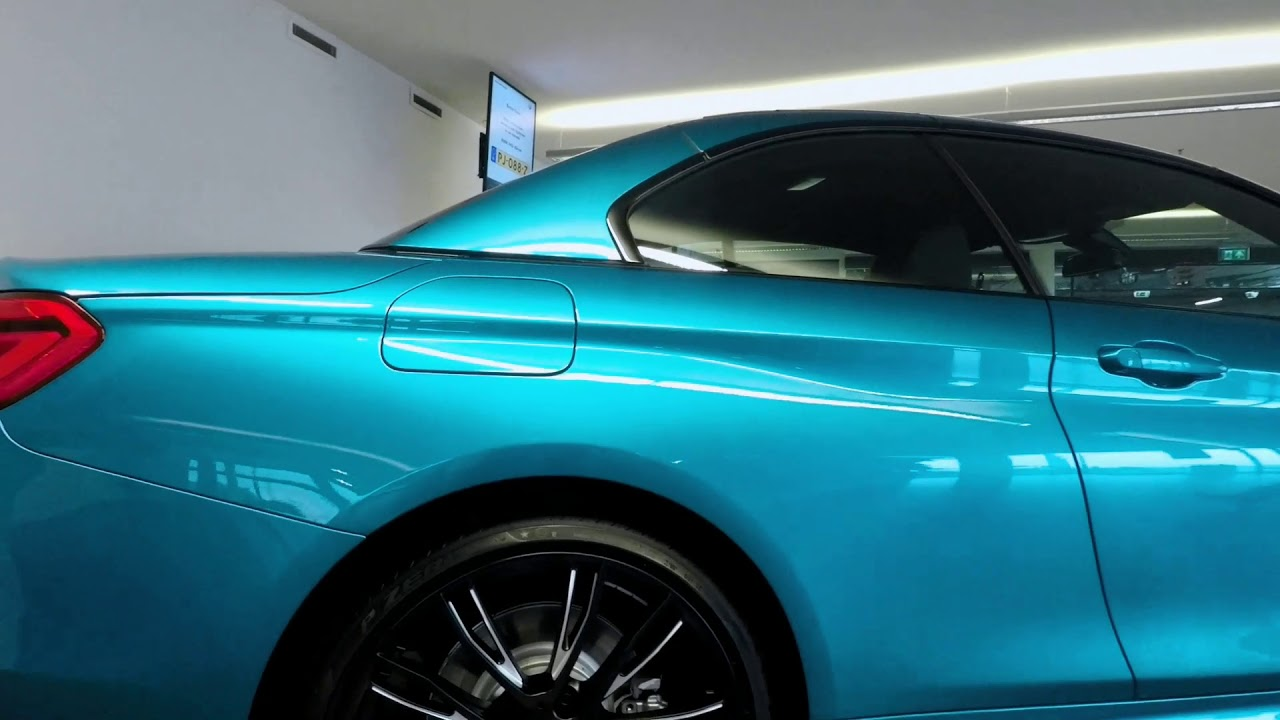 Collecting My New Bmw 440i Convertible Xdrive 2017 Snapper Rock Blue