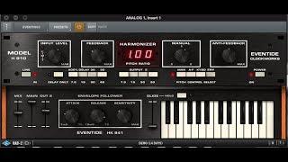 Eventide Harmonizer (UAD2 Bass)