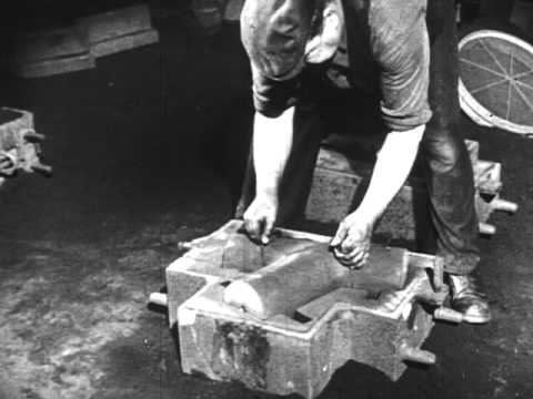 A little bit of Doosan Babcock history - all about the foundry casting process