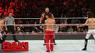 Braun Strowman vs. The Mile-High Trio: Raw, 17. Oktober 2016