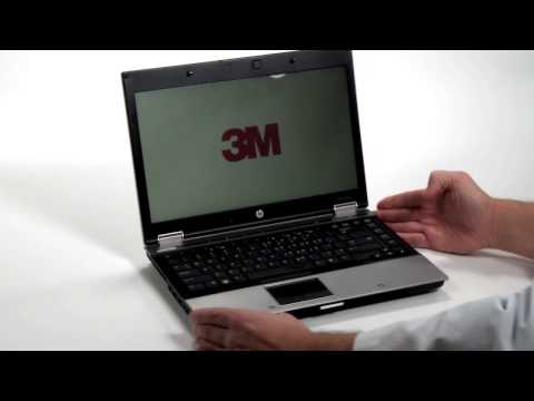 3M™ Privacy Filter Application For Your Laptop - YouTube