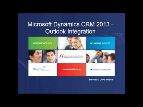 Outlook Integration with Microsoft Dynamics CRM 2013 (Part I)