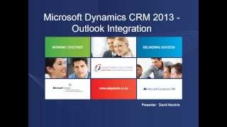 Outlook Integration with Microsoft Dynamics CRM 2013 (Part I) Mp3