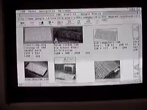 Browsing the WEB with Atari ST