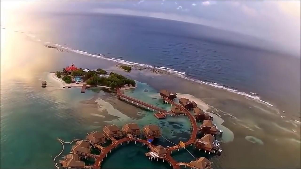 Jamaica Riu Reggae Montego Bay Sandals Villas Via Drone