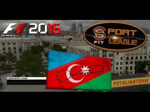 Sport League F1 2016 GP Europe Baku 07.12.16 - Live Streaming