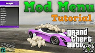 How to install GTA 5 online mod menu on ps3 1 27-1 28 USB