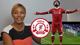 American Football Fan Reacts to Mo Salah, Liverpool FC Football Highlights Reaction