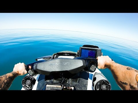 Fishing + Exploring Remote Australian Islands By Jet Ski | Squid Catch And Cook - Ep 73