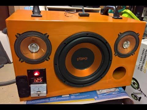 My Ultimate Diamondboxx KILLER Diy Bluetooth Speaker