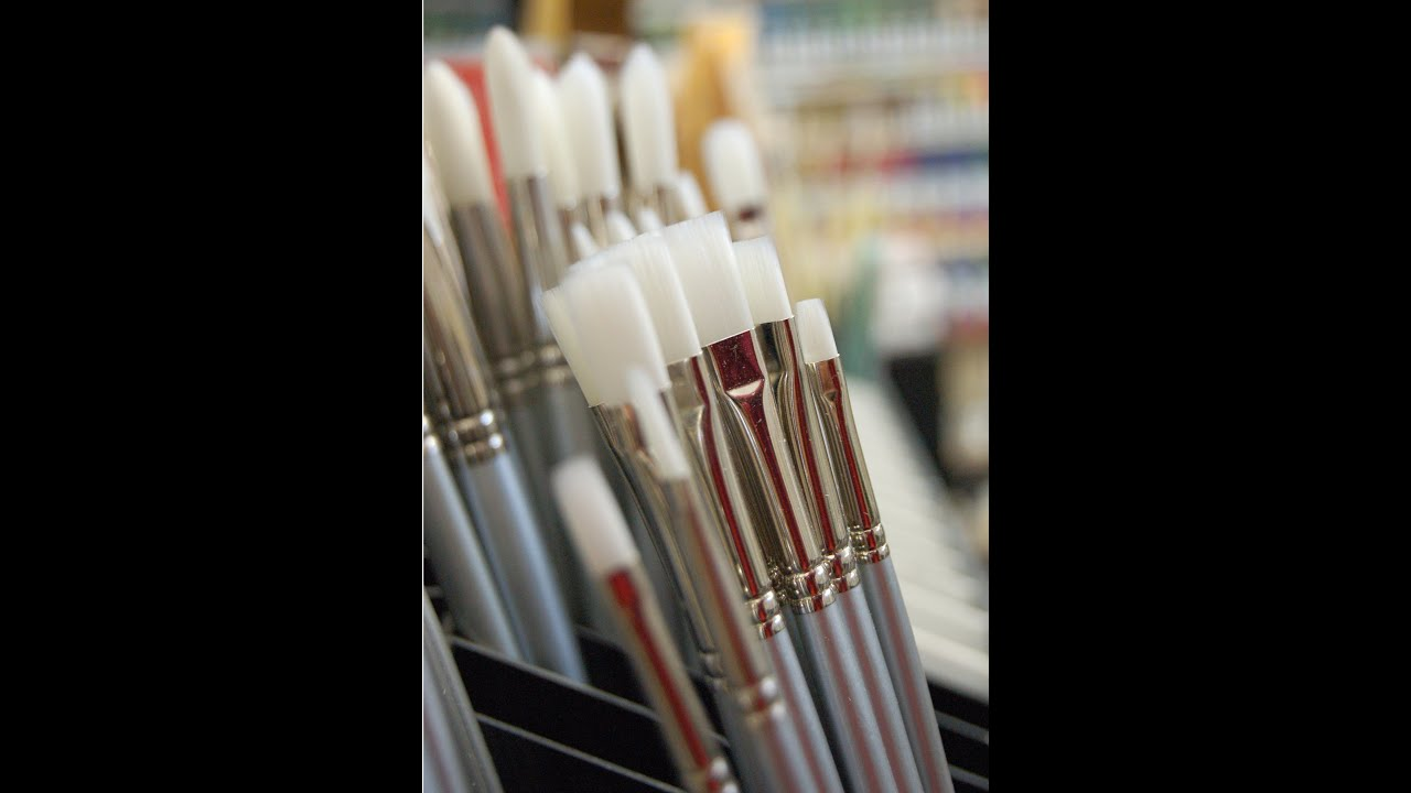 acrylic painting tip 13 choosing the best brushes for acrylic
