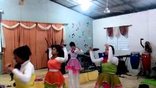 Danza Desciende  Espiritu Santo Grupo Barak