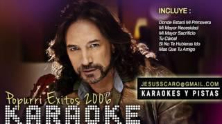 MARCO ANTONIO S - Popurri Exitos 2006 KARAOKE